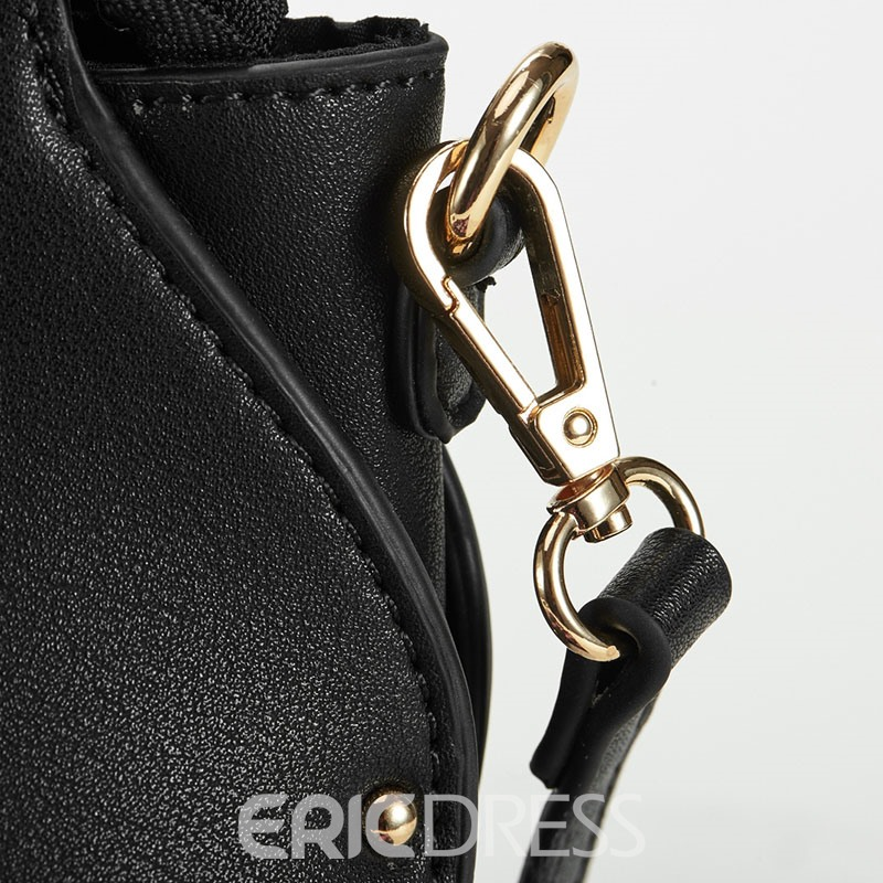 Ericdress Unique Shell Shape Zipper Crossbody Bag