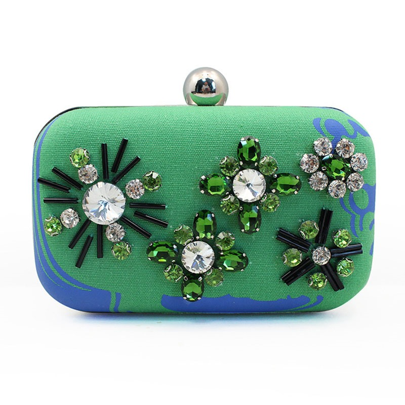 Ericdress Newest Bead Decoration Evening Clutch