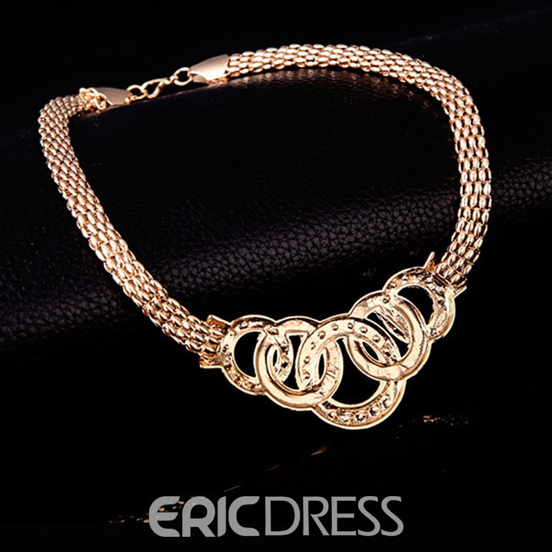 Ericdress Diamante Necklace Gift Jewelry Sets