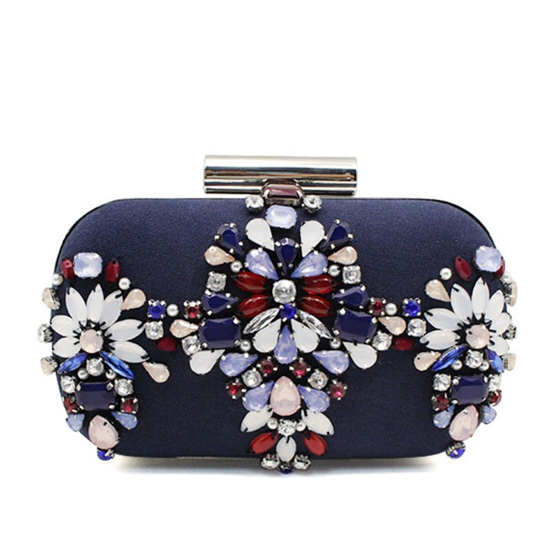 Ericdress Elegant Handcraft Beading Chain Evening Clutch