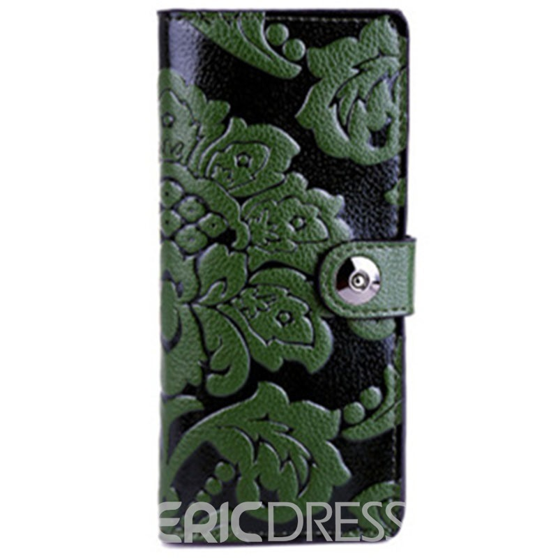 Ericdress Retro Embossing Long Type Wallet