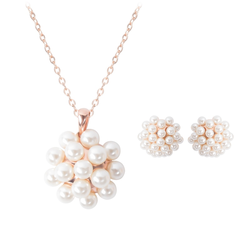 Ericdress Pearl Pendant Women's Jewelry Set