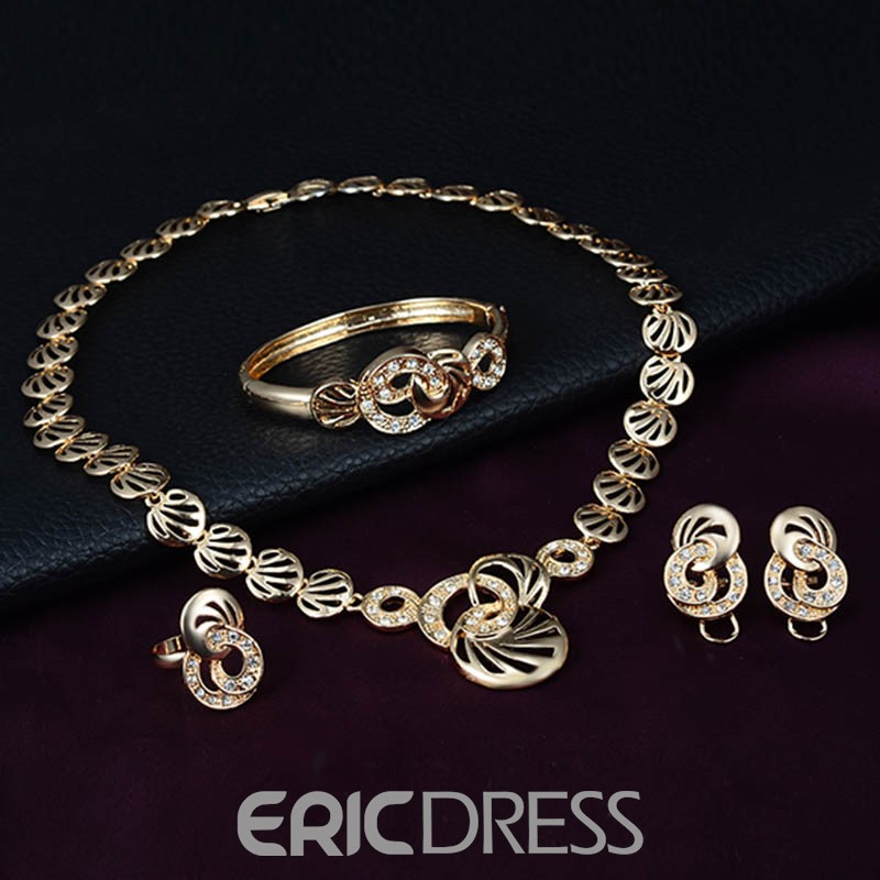Ericdress Alloy Four-Piece Women's Jewelry Set