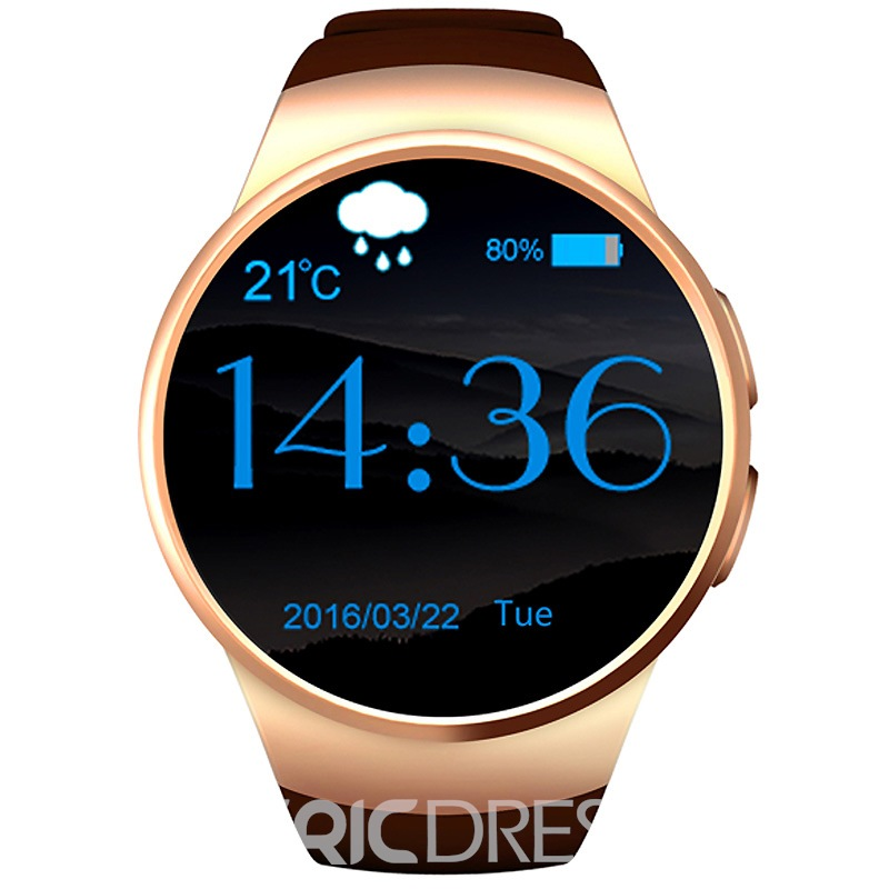 Ericdress Chic Round Multifunctional Men's Smart Watch