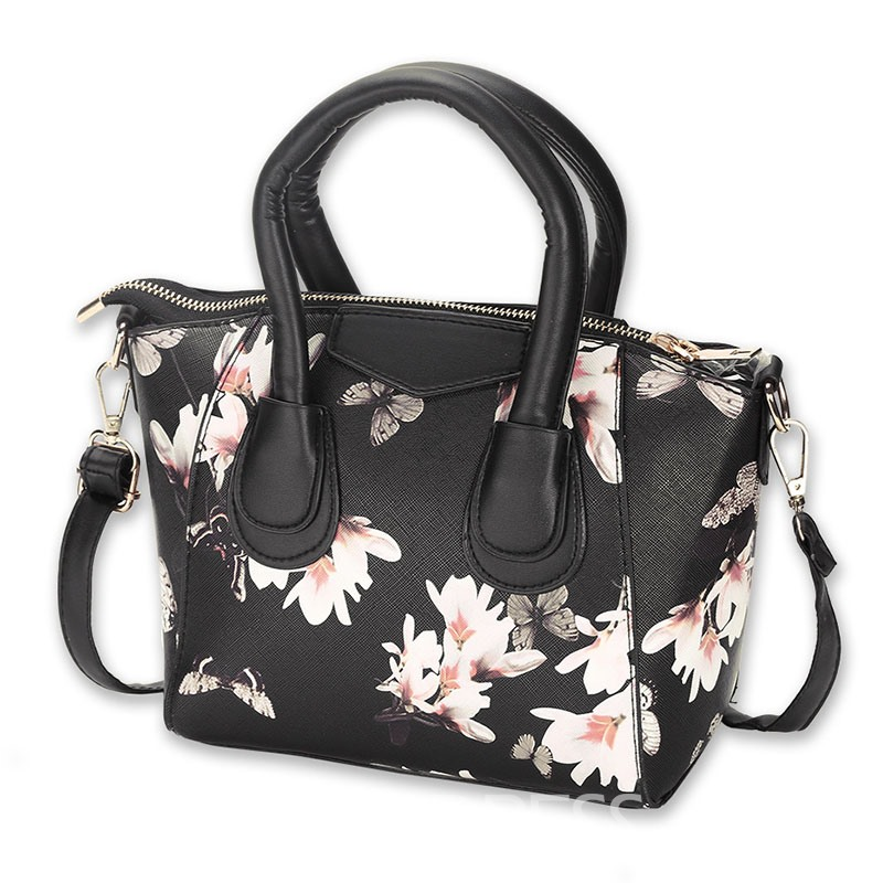 Ericdress Classic Printing Shell Shape Women Handbag