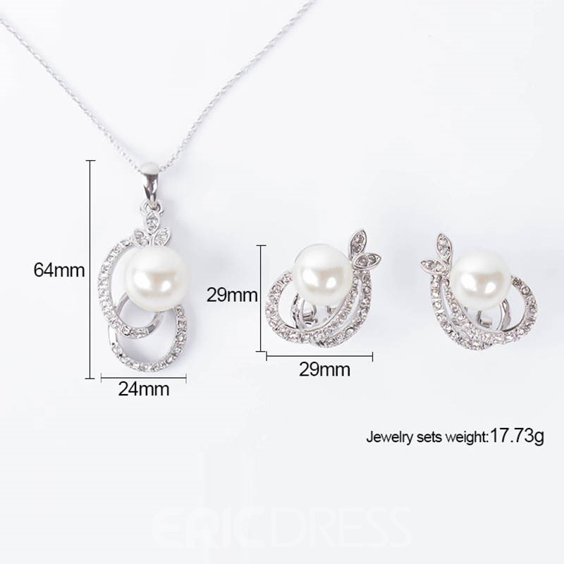 Ericdress Necklace+Earring Jewelry Set for Women