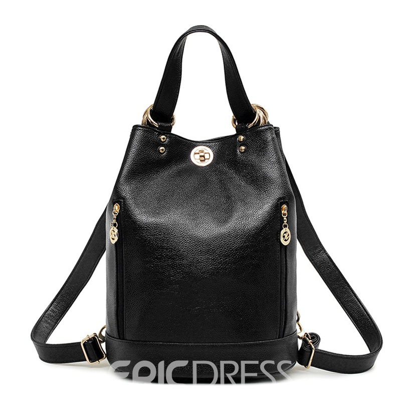 Ericdress Multifunctional Bucket Shape Women Backpack