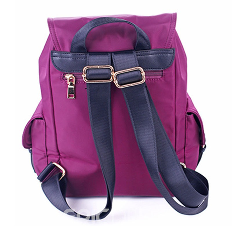 Ericdress Casual Multi Pocket Oxford Cloth Backpack