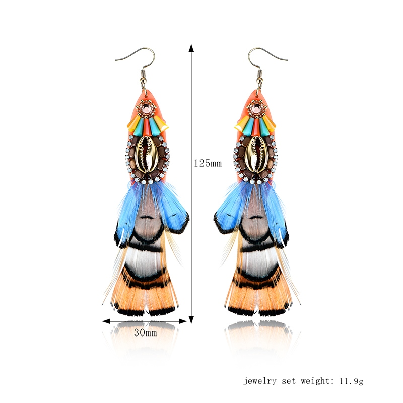 Ericdress Nature Colorful Fashion Earring for Women