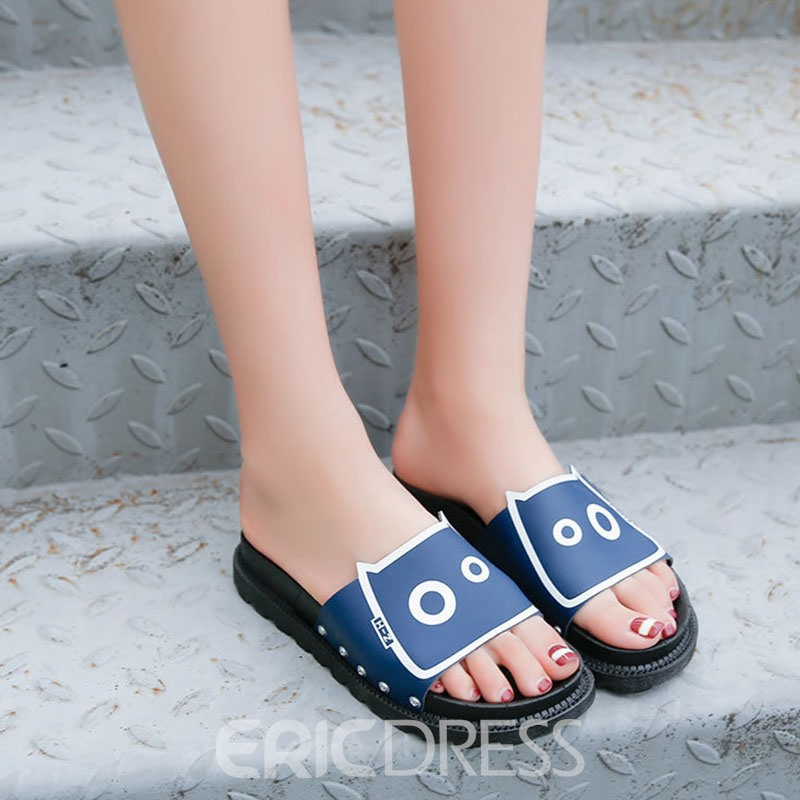Ericdress Korean PU Mules Shoes