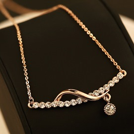 Ericdress Exquisite Fully-Jewelled Necklace for Women