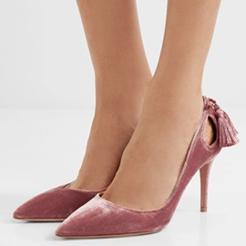 Ericdress Princess Tassels Point Toe Pumps
