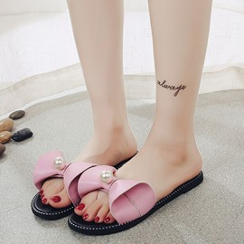 Ericdress Summer Lovely Bowtie Mules Shoes