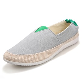 Ericdress Cozy Canvas Slip-On Men's Casual Shoes