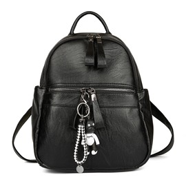 Ericdress Korean Style Bear Pendant Women Backpack