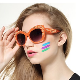 Ericdress Splendid Ceramics Rose Sunglasses