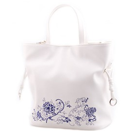 Ericdress Simple Printing PU Leather Tote Bag