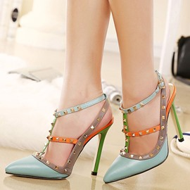 Ericdress Fashion Lady Rivets Decorated Point Toe Pumps