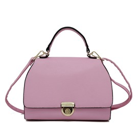 Ericdress Concise Lock Decoration Crossbody Bag