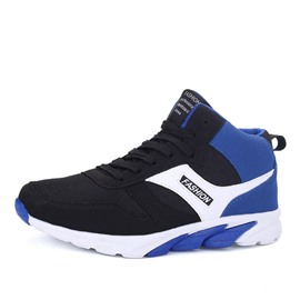 Ericdress Color Block High-Cut Men's Athletic Shoes