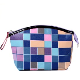 Ericdress Color Block Waterproof Cosmetic Bag