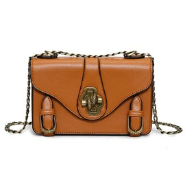 Ericdress All Match Belt-Decorated Crossbody Bag