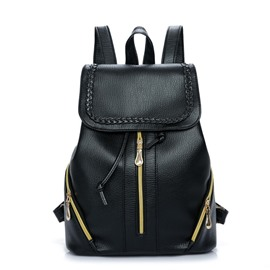 Ericdress Casual PU Leather Women Backpack