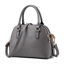 Ericdress Chic Irregular Embossing Pattern Handbag