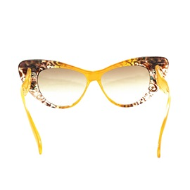 Ericdress White Pearl Flower Sunglass for Women