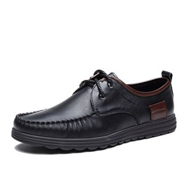Ericdress PU Color Block Men's Oxfords