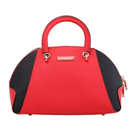 Ericdress Shell Shape Color Block Women Handbag
