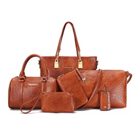 Ericdress Retro Embossing Women Bag Set