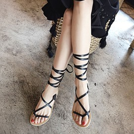 Ericdress Roman Cross Strap Beach Sandals