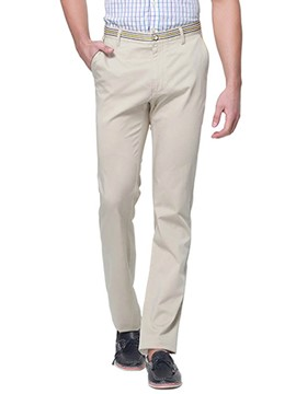 Ericdress Plain Straight Casual Slim Men's Pants