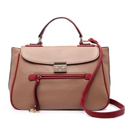 Ericdress Casual Patchwork PU Women Handbag