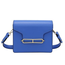 Ericdress Fresh Style Solid Color Crossbody Bag