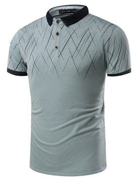 Ericdress Short Sleeve Quality Casual Men's Polo T-Shirt