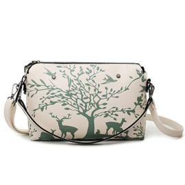 Ericdress Fashion Shell Shape Printing Crossbody Bag
