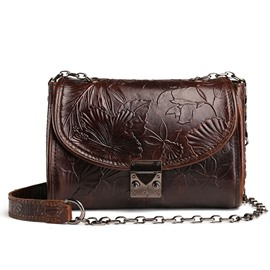 Ericdress Retro Embossing Women Crossbody Bag