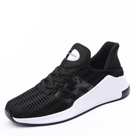 Eeicdress Cotton Plain Lace-Up Men's Athletic Shoes