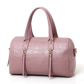 Ericdress Cylinder Type Croco-Embossed Women Handbag