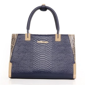 Ericdress Elegance Croco-Embossed Women Handbag