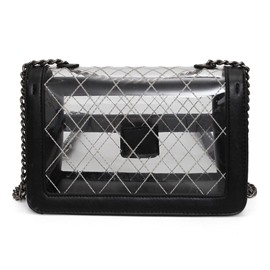 Ericdress Stylish Rhombus Embroidery Crossbody Bag