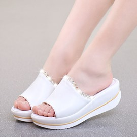 Ericdress Daily PU Mules Shoes