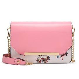 Ericdress Korean Style Printing Chain Crossbody Bag