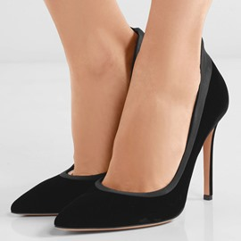 Ericdress Classic Patchwork Point Toe Pumps