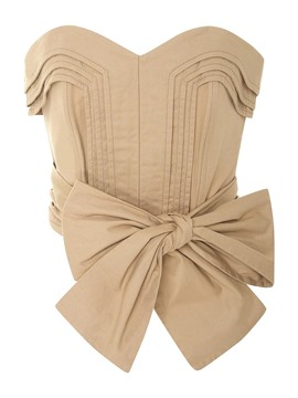 Ericdress Plain Backless Bowknot Vest