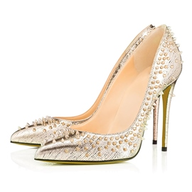 Ericdress Noble Rivets Decorated Point Toe Pumps