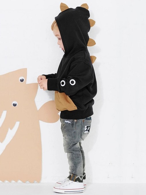 Ericdress Funny Monster Hooded Long Sleeve Baby Boys Clothes