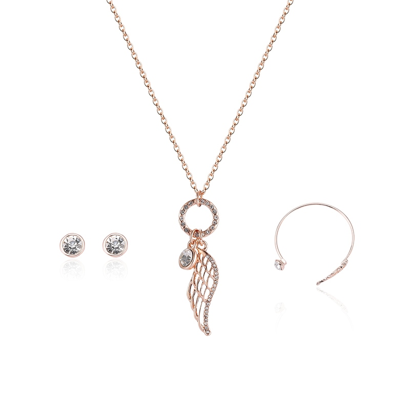 Ericdress Leaf Pendant Womens Jewelry Set